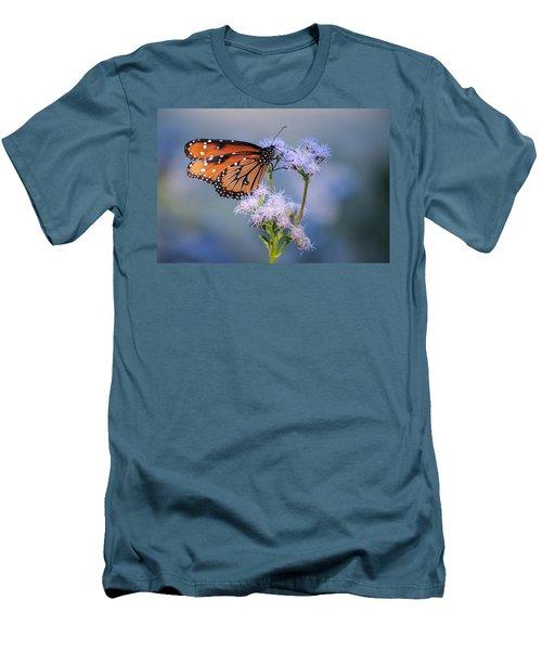 8x10 Metal - Queen Butterfly Men's T-Shirt (Slim Fit) by Tam Ryan