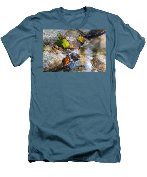 Leaves And Needles Men's T-Shirt (Athletic Fit)