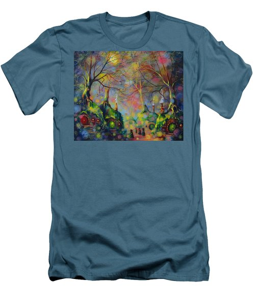 Leaving The Shire Men's T-Shirt (Slim Fit) by Joe Gilronan