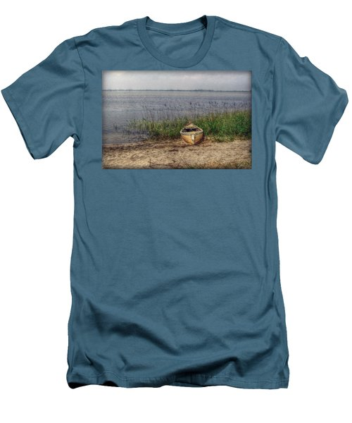Men's T-Shirt (Slim Fit) featuring the photograph L'etang by Hanny Heim