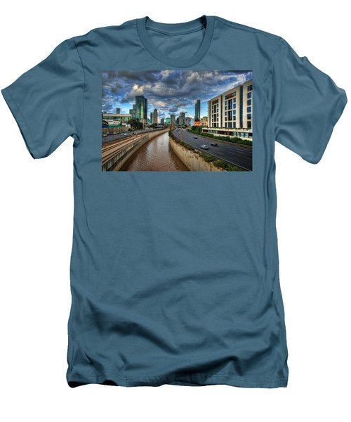 Men's T-Shirt (Athletic Fit) featuring the photograph Life In The Fast Lane by Ronsho