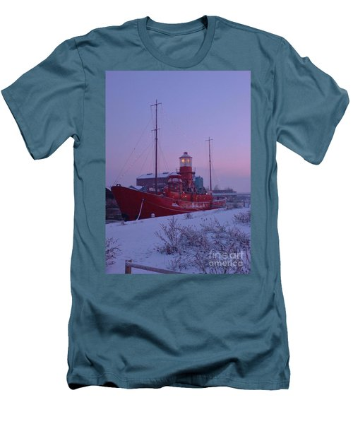 Men's T-Shirt (Slim Fit) featuring the photograph Light Ship by John Williams