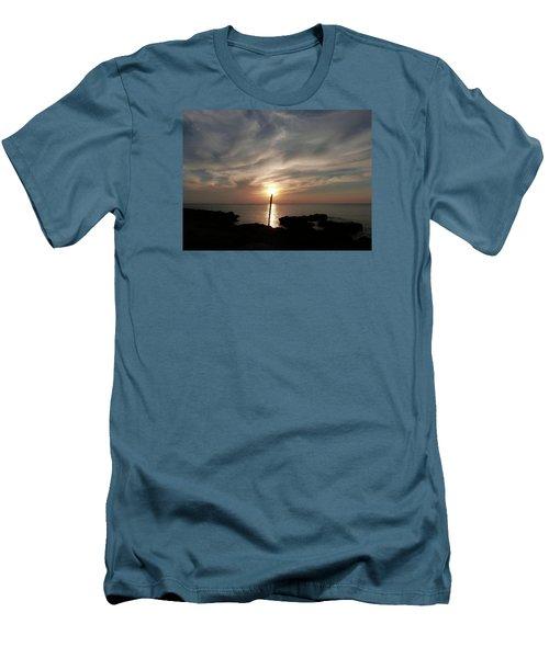 Light The Sun Men's T-Shirt (Slim Fit) by Amar Sheow