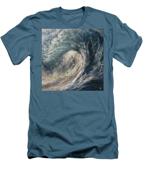 Light Wave  Men's T-Shirt (Athletic Fit)