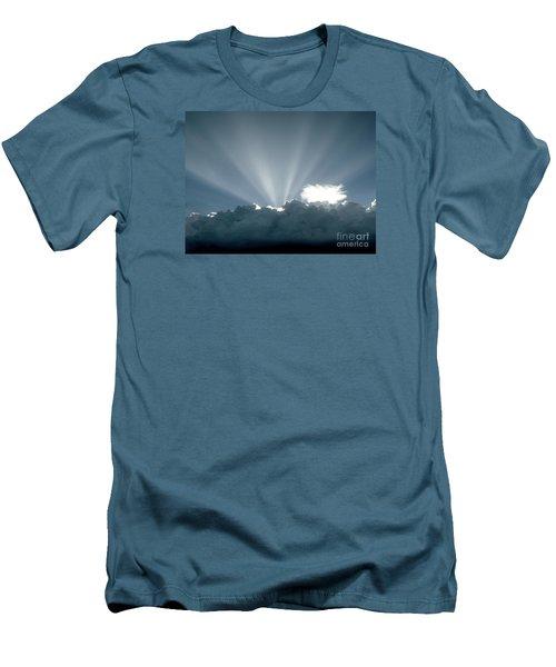 Lightplay Men's T-Shirt (Slim Fit) by Amar Sheow