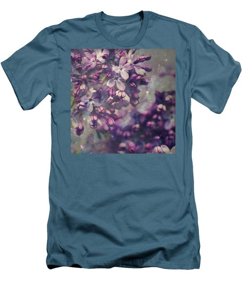Lilac Men's T-Shirt (Athletic Fit)