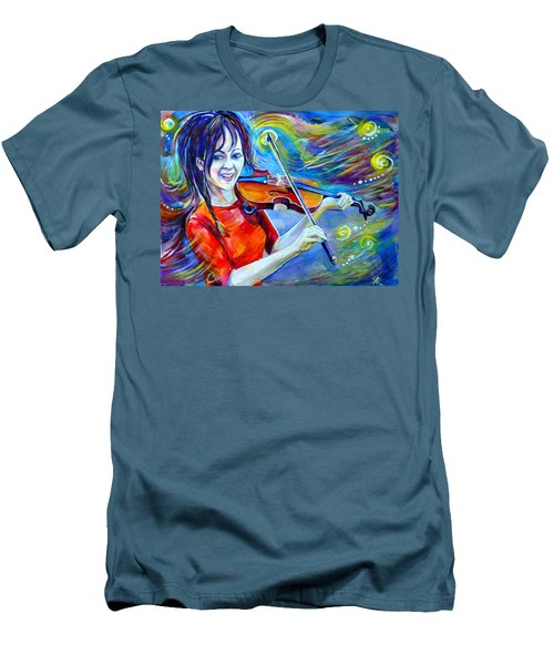 Lindsey Stirling Magic Men's T-Shirt (Athletic Fit)
