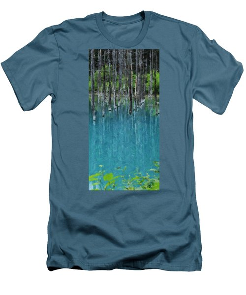 Liquid Forest Men's T-Shirt (Athletic Fit)