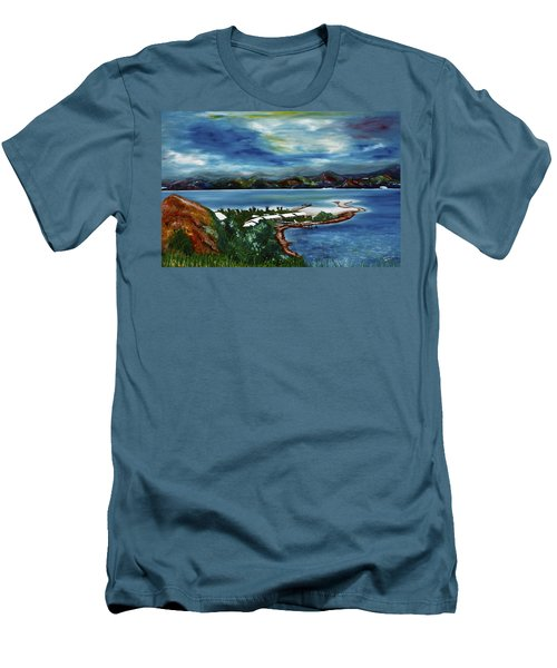 Loloata Island Men's T-Shirt (Athletic Fit)