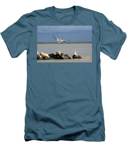 Look Ma - I Can Fly Men's T-Shirt (Athletic Fit)