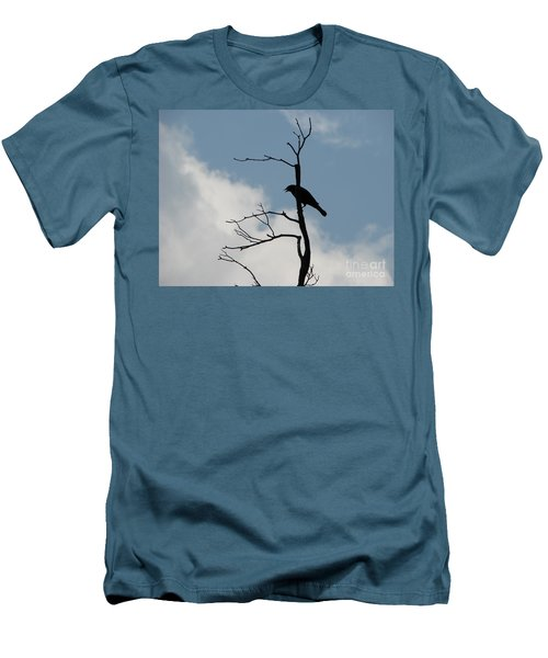 Men's T-Shirt (Slim Fit) featuring the photograph Looking Down On Me  by Michael Krek