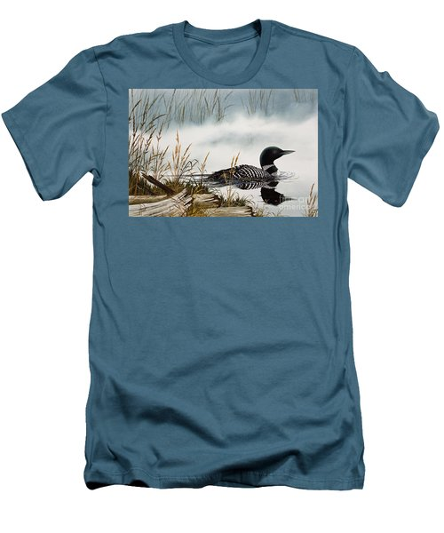 Loons Misty Shore Men's T-Shirt (Athletic Fit)