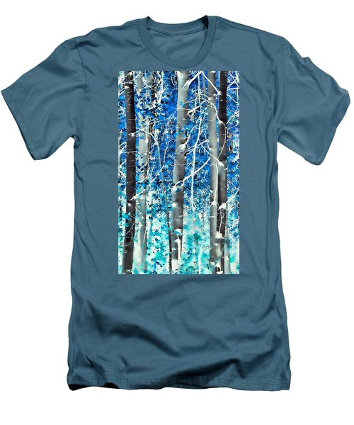 Lost In A Dream Men's T-Shirt (Slim Fit) by Don Schwartz