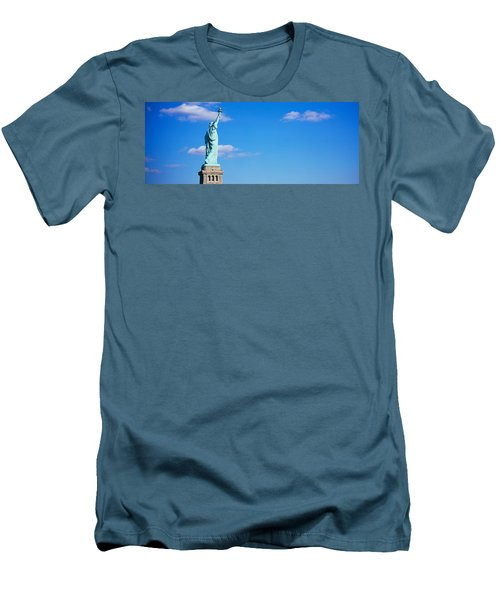 Low Angle View Of A Statue, Statue Men's T-Shirt (Athletic Fit)