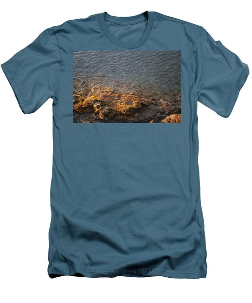 Men's T-Shirt (Slim Fit) featuring the photograph Low Tide by George Katechis