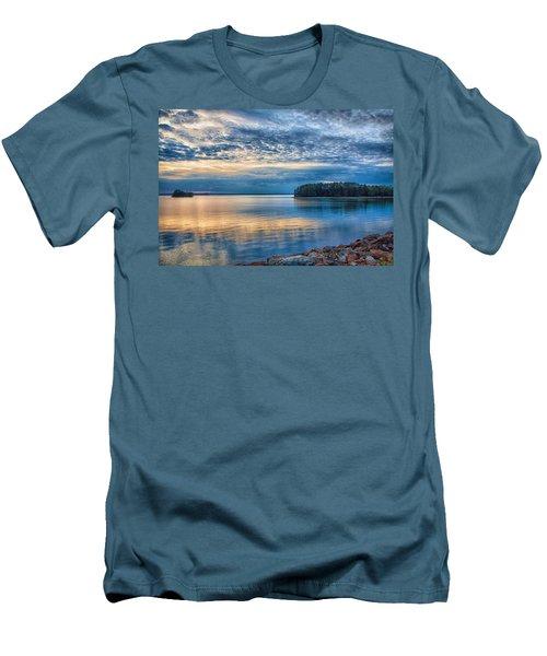 Mackerel Sunset Men's T-Shirt (Athletic Fit)