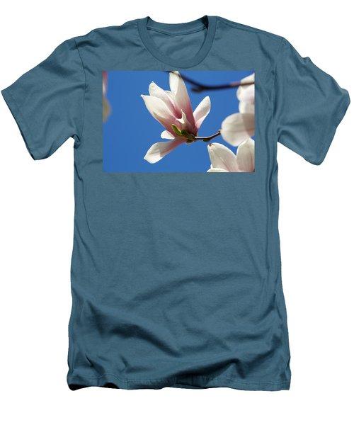 Magnolia Flower Men's T-Shirt (Athletic Fit)