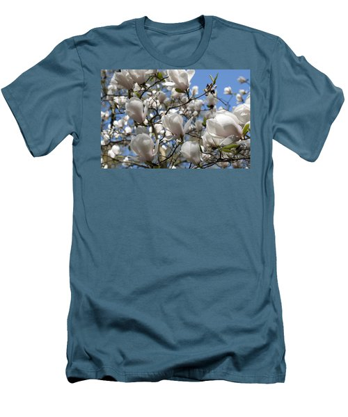 Men's T-Shirt (Slim Fit) featuring the photograph Magnolia by Lana Enderle