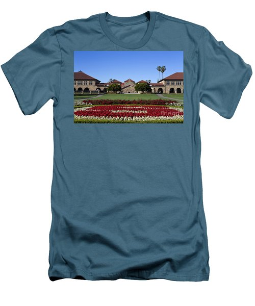 Main Quad Stanford California Men's T-Shirt (Athletic Fit)