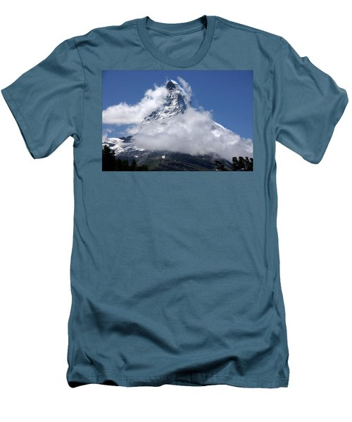 Majestic Mountain  Men's T-Shirt (Athletic Fit)