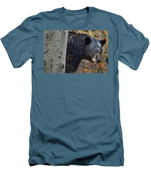 Mama Bear Men's T-Shirt (Slim Fit) by Ed Hall