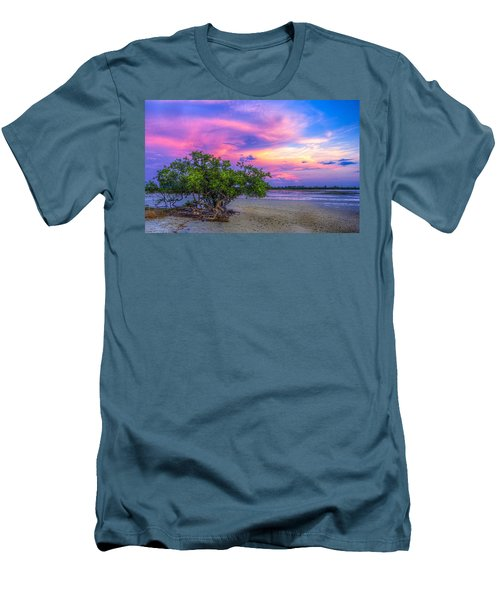 Mangrove By The Bay Men's T-Shirt (Athletic Fit)