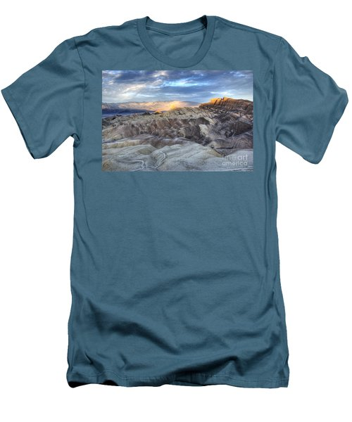 Manly Beacon Men's T-Shirt (Slim Fit) by Juli Scalzi