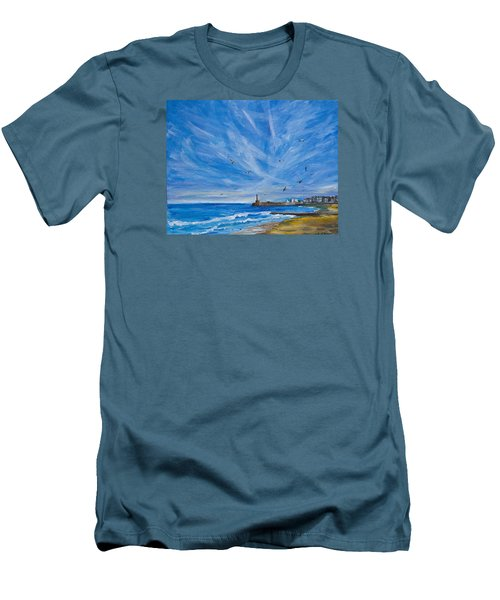 Margate Skies Men's T-Shirt (Athletic Fit)