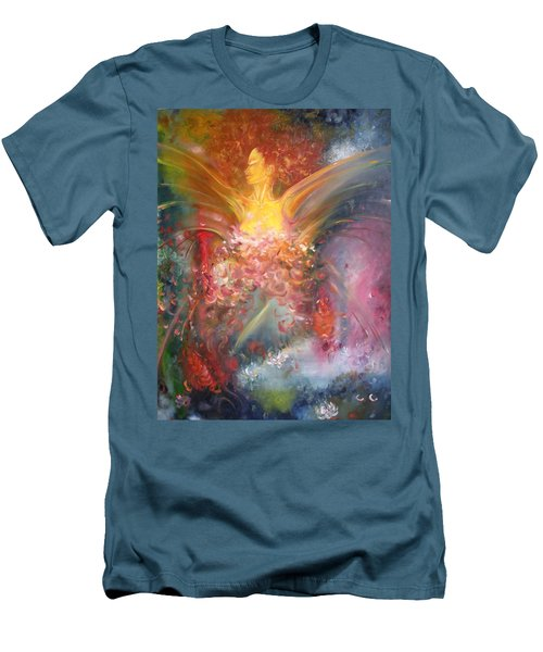 Mariposa Men's T-Shirt (Slim Fit) by Julio Lopez