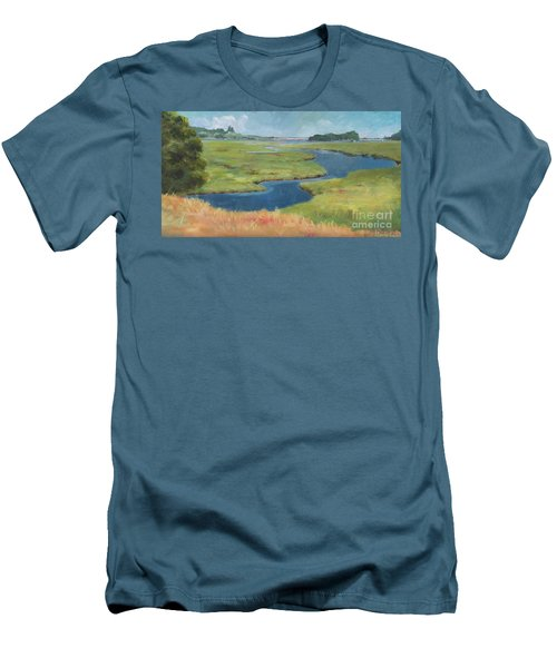 Marshes Men's T-Shirt (Athletic Fit)