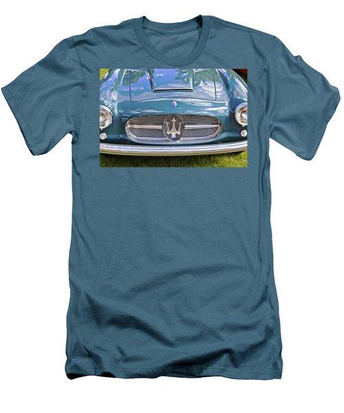 Maserati A6g 54 2000 Zagato Spyder 1955 Men's T-Shirt (Slim Fit) by Maj Seda