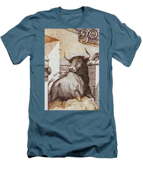 Matador 1 Men's T-Shirt (Slim Fit) by Andy Prendy