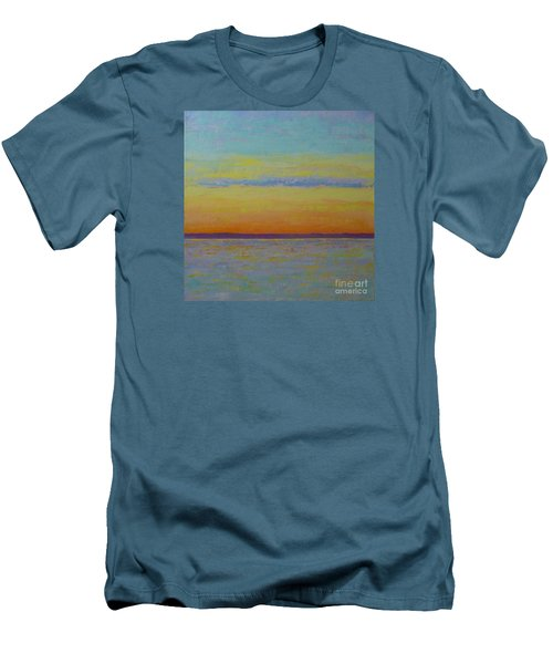 May Sunset Men's T-Shirt (Slim Fit) by Gail Kent