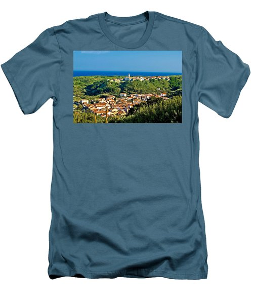 Mediterranean Town Of Susak Croatia Men's T-Shirt (Athletic Fit)