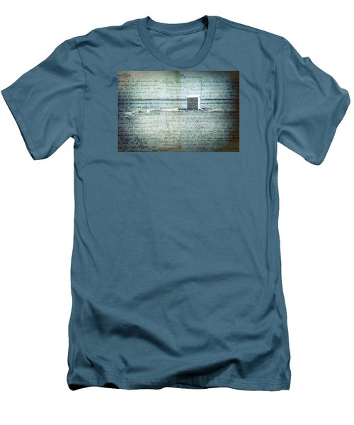 Memories... Men's T-Shirt (Slim Fit) by Vittorio Chiampan