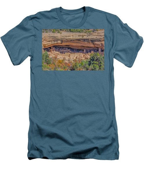 Mesa Verde Cliff Dwelling Men's T-Shirt (Athletic Fit)