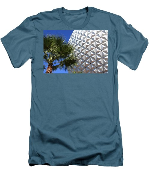 Men's T-Shirt (Slim Fit) featuring the photograph Metal Earth by Chris Thomas