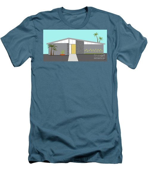 Mid Century Modern House 2 Men's T-Shirt (Athletic Fit)