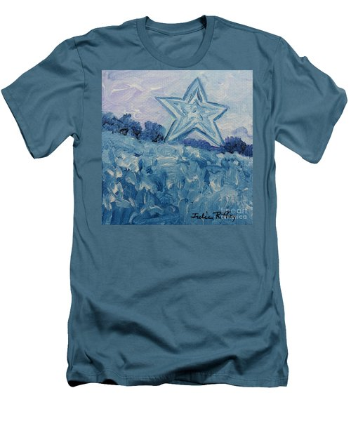 Mill Mountain Star Men's T-Shirt (Athletic Fit)
