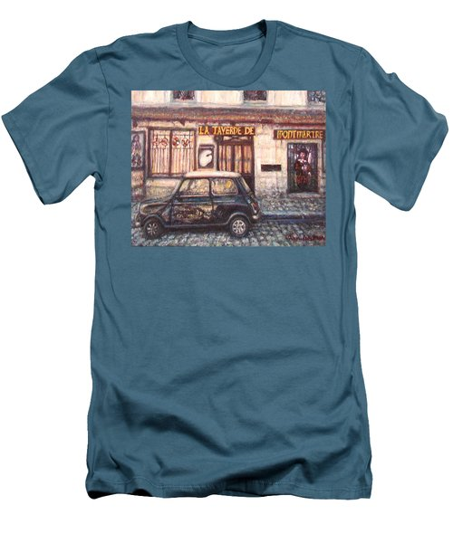 Mini De Montmartre Men's T-Shirt (Athletic Fit)
