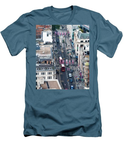 Miniature Oxford Street Men's T-Shirt (Athletic Fit)