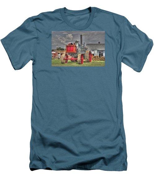 Minneapolis Return Flue  Men's T-Shirt (Slim Fit) by Shelly Gunderson