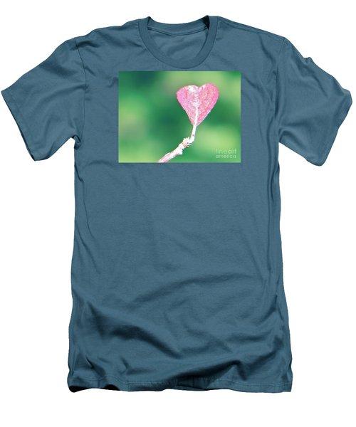 Miss Lonely Heart Men's T-Shirt (Slim Fit) by Joy Hardee