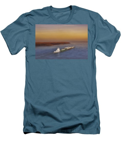 Mississippi Sunset Men's T-Shirt (Athletic Fit)