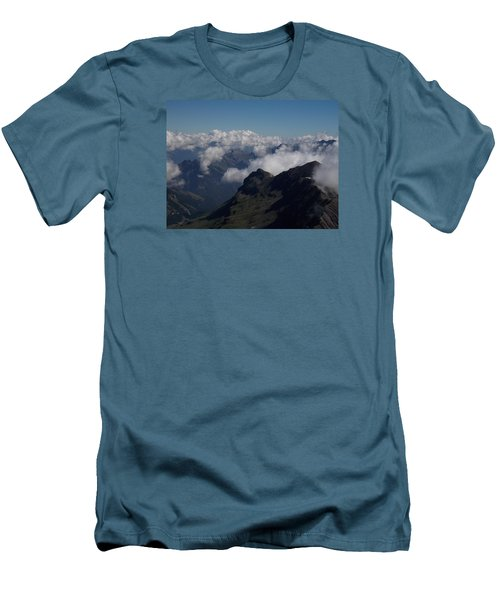 Mist From The Schilthorn Men's T-Shirt (Athletic Fit)