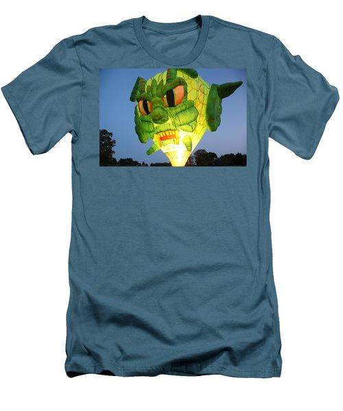 Monster Balloon Men's T-Shirt (Slim Fit) by Richard Engelbrecht