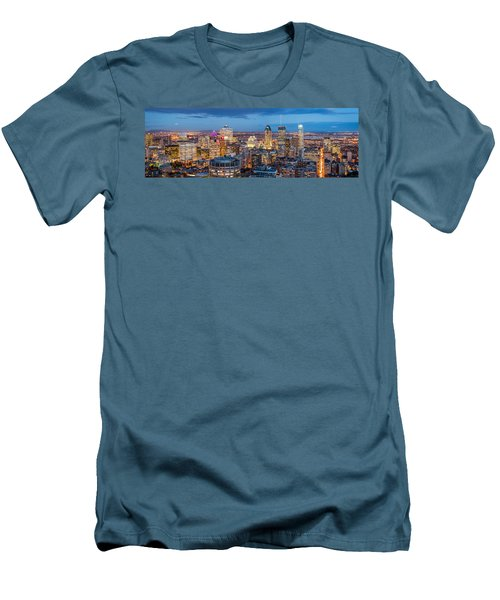 Montreal Panorama Men's T-Shirt (Athletic Fit)
