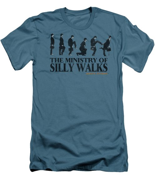Monty Python - Silly Walk Men's T-Shirt (Slim Fit) by Brand A