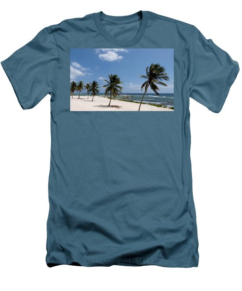 Men's T-Shirt (Slim Fit) featuring the photograph Moon Bay by Amar Sheow