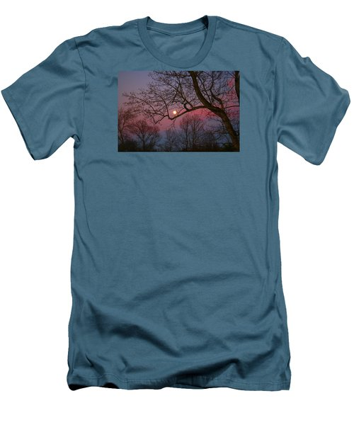 Moonrise Men's T-Shirt (Slim Fit) by Kathryn Meyer
